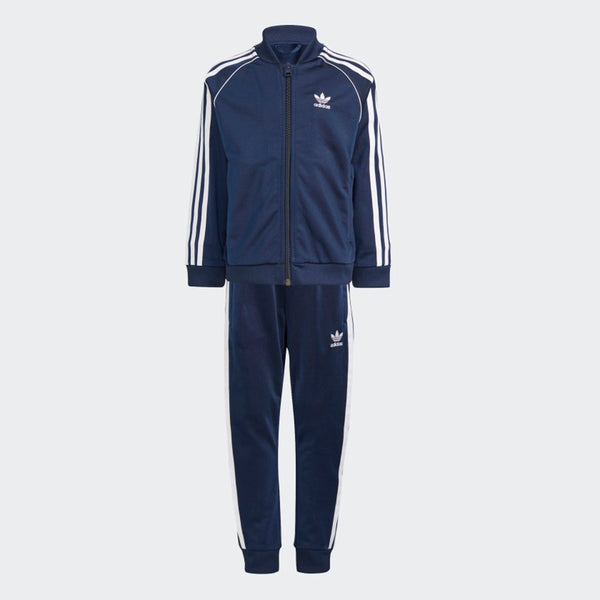 Kids Adicolor SST Tracksuit - Collegiate Navy / White