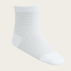 Stripe Sock - Alfalfa/Cloud