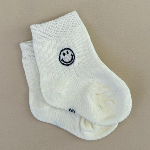 Face Socks - Beige