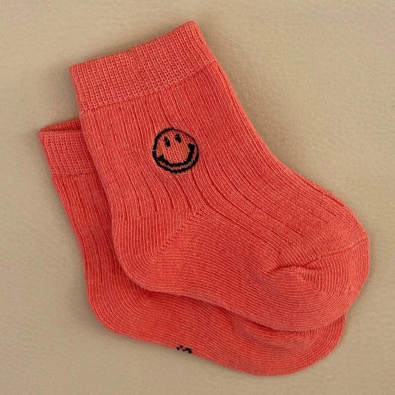 Face Socks - Coral Pink - Tim and Gerry's Sydney