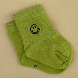 Face Socks - Lime