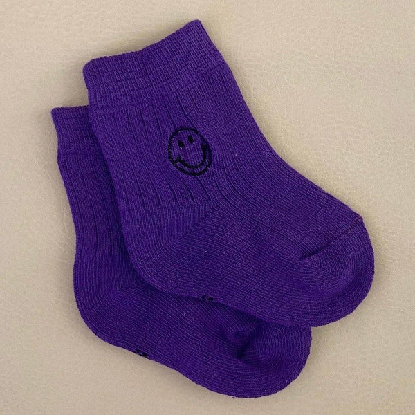 Face Socks - Purple - Tim and Gerry's Sydney