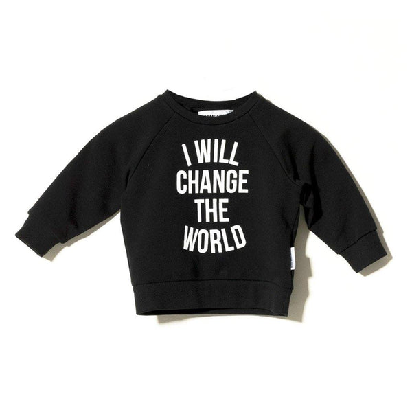 Baby Hope Crewneck - Black