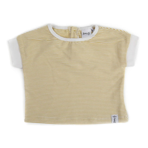 Spring Tee - Stripey Lemonade