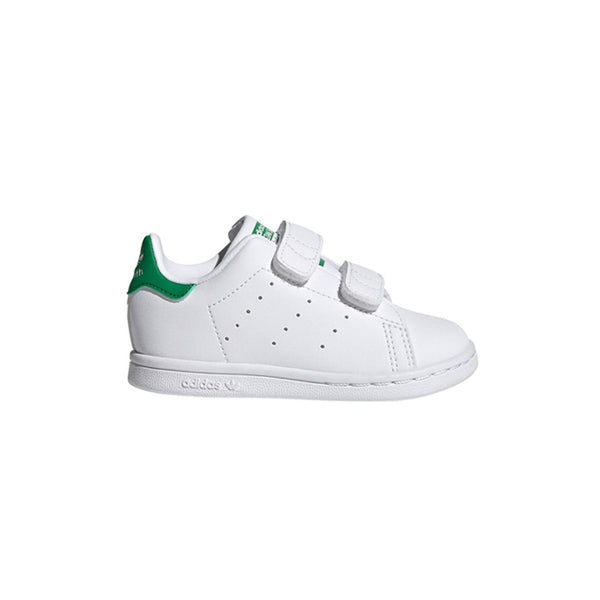 Toddler Stan Smith Shoes - Cloud White / Cloud White / Green