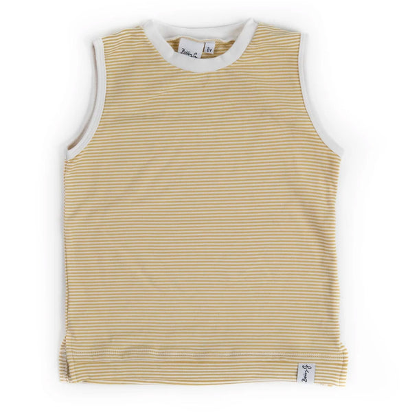 Tank Top - Stripey Lemon-ade