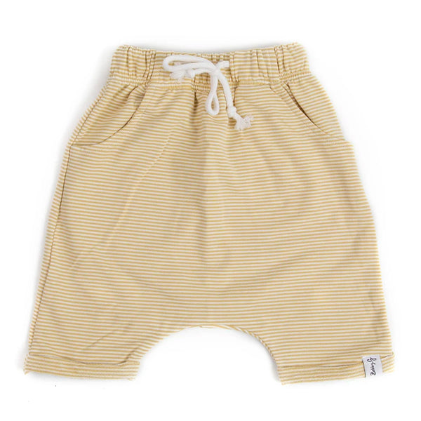 Breeze Shorts -Stripey Lemon-ade