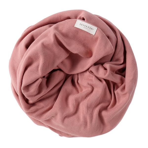 Organic Swaddle Blanket - Pink Clay