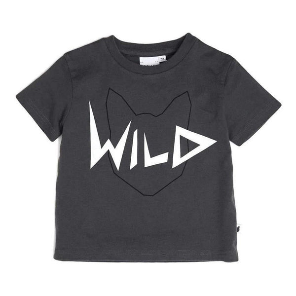 Wild Tee - Charcoal - Tim and Gerry's Sydney