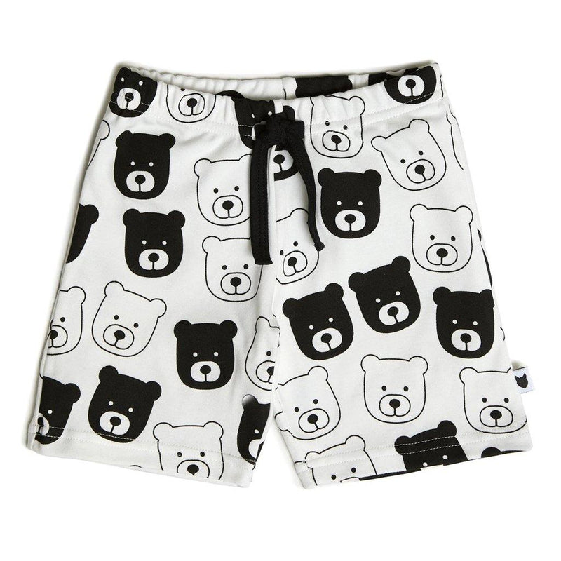 Bear Shorts - White