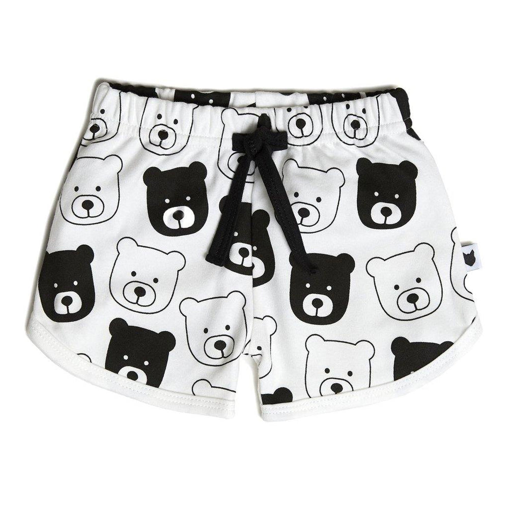Bear Shorts Mini - White