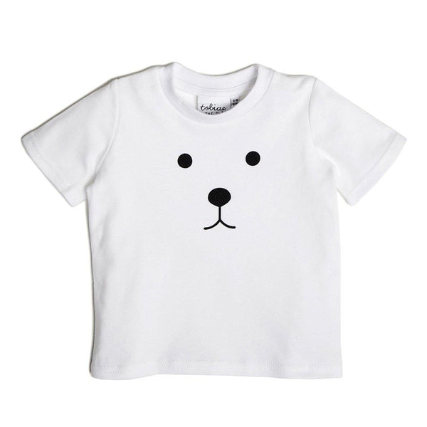 Bear Tee - White - Tim and Gerry's Sydney
