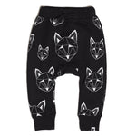 Just Call Me Fox Multi Joggers - Black