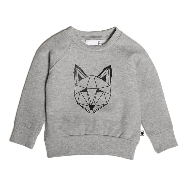 Just Call me Fox Sweatshirt - Grey Marle