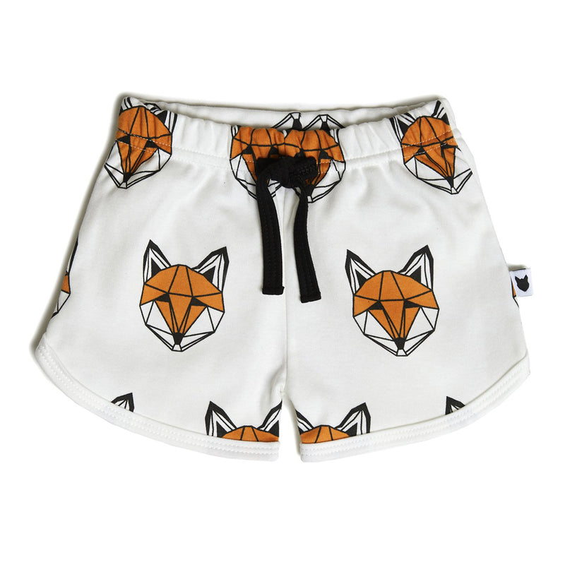 Just Call me Fox Shorts Mini - White