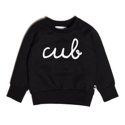 Cub Sweatshirt - Black - Tim and Gerry's Sydney