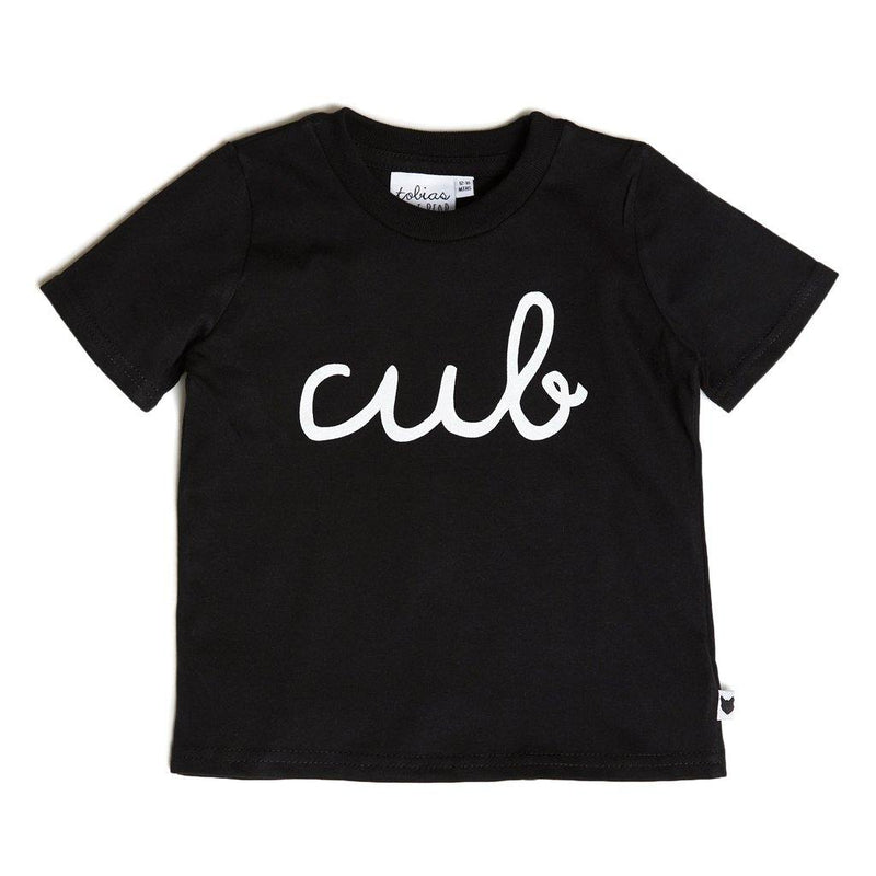 Cub Tee - Black - Tim and Gerry's Sydney