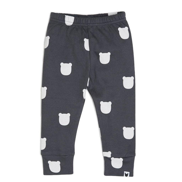 Charcoal Bear Leggings - Charcoal - Tim and Gerry's Sydney