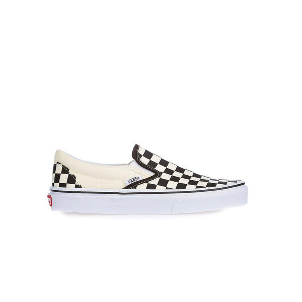 Checkerboard Slip-On Youth - Black/White