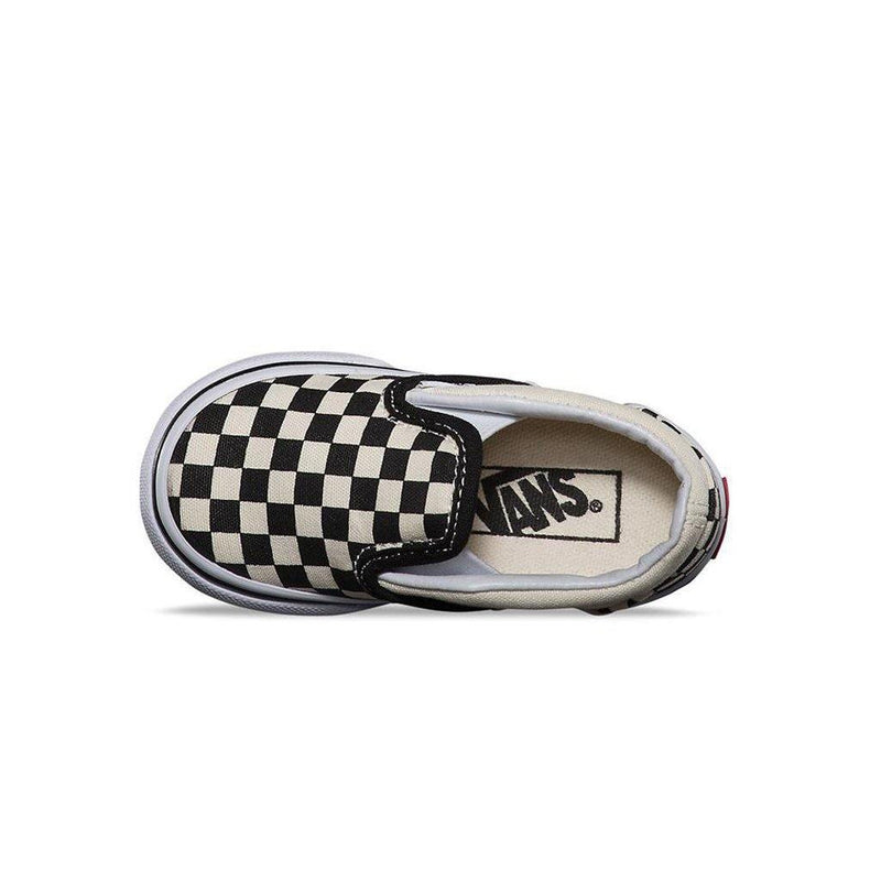 Classic Slip-On Checkerboard Toddler - Black/White