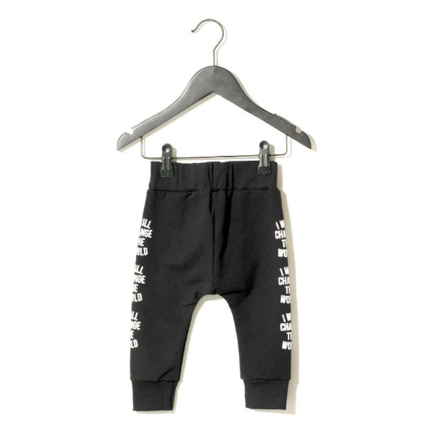 Baby Worth Pants - Black - Tim and Gerry's Sydney