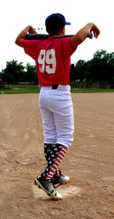 usa flag sports socks
