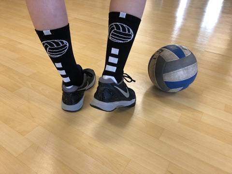 saving on volleyball socks