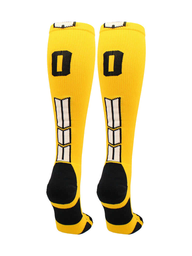 Player Id Jersey Number Socks Over the Calf Length Gold and Black