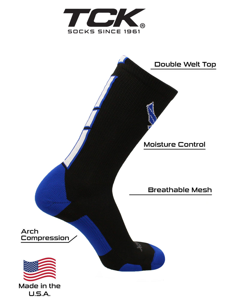 United States Air Force Academy Socks Air Force Falcons Baseline 3.0 Crew Socks