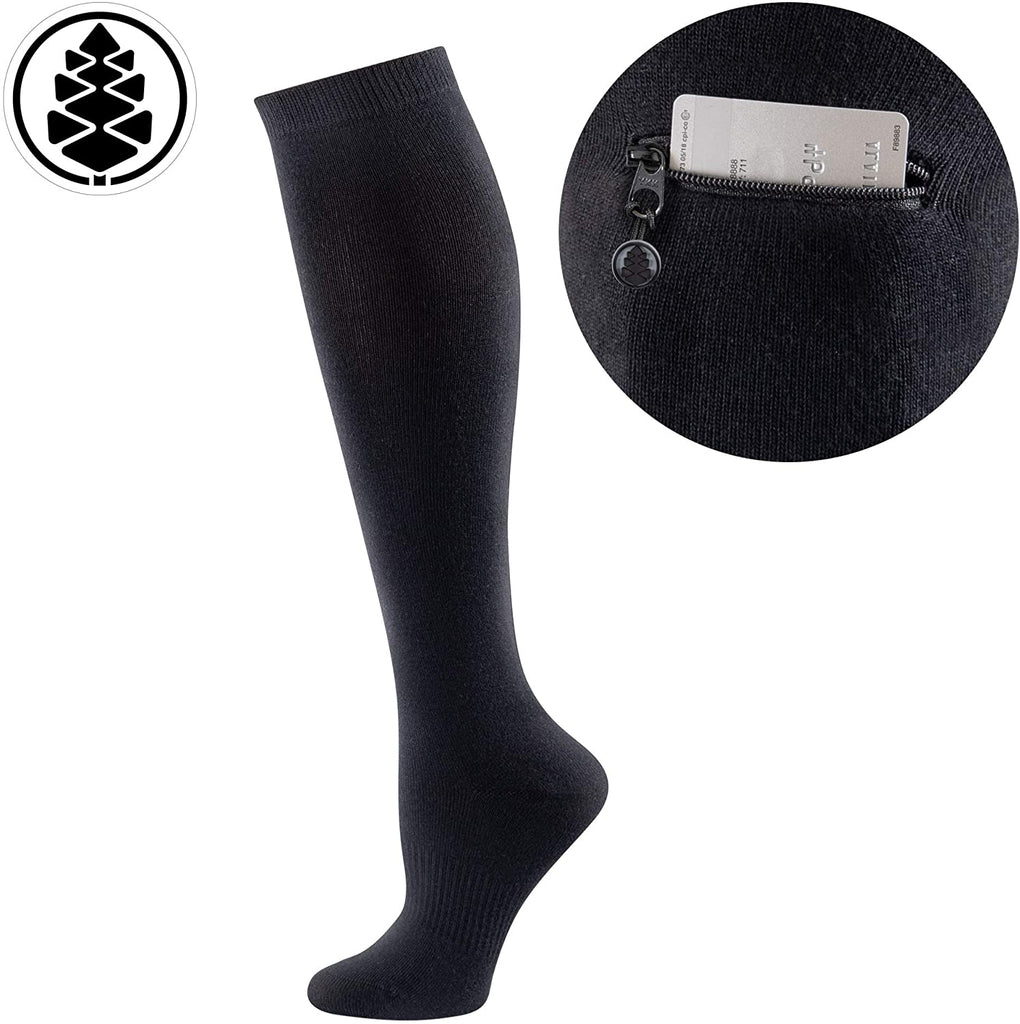 Performance Knee High Socks with Pocket Miss Zippy