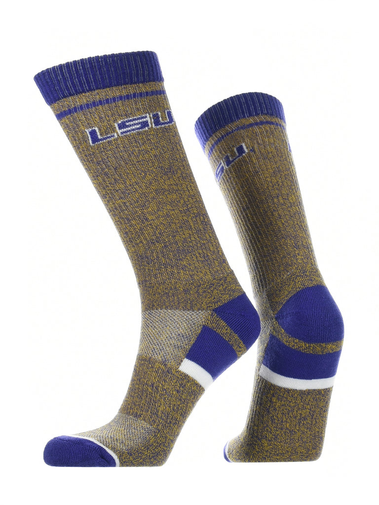 LSU Tigers Socks Victory Parade Crew Length