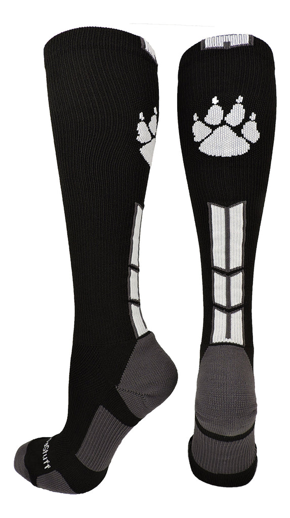 Wild Paw Over the Calf Socks (multiple colors)