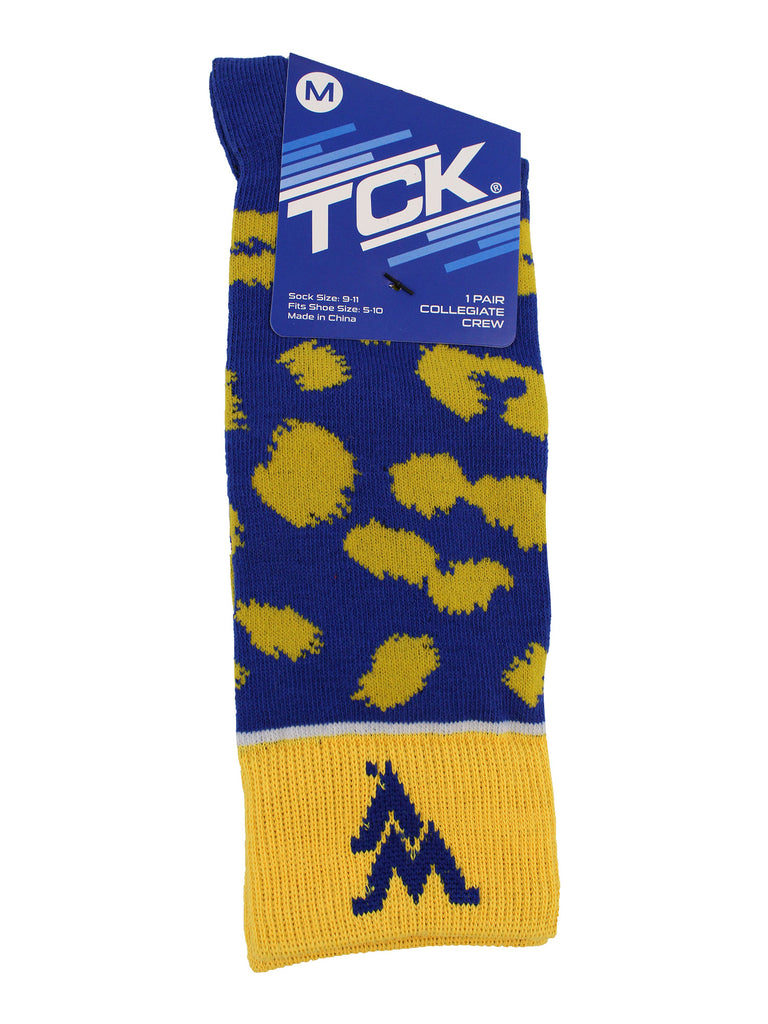 West Virginia Mountaineers Socks Womens Savage Crew Socks