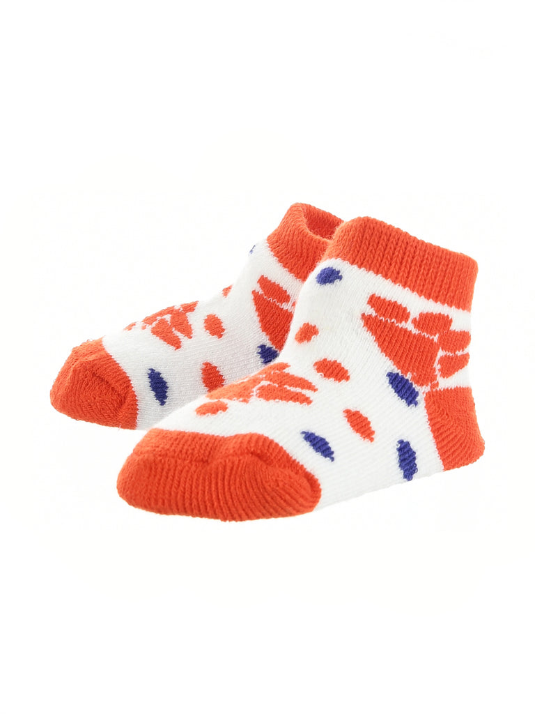 Clemson Tigers Toddler Socks Low Cut Little Fan