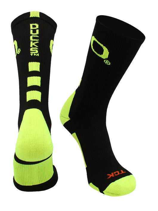 Baseline with Oregon Logo (Black/Neon Yellow, Large) - Black/Neon Yellow,Large