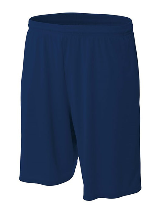 Pro Line Performance Mesh Youth Basketball Shorts (Navy, X-Small)