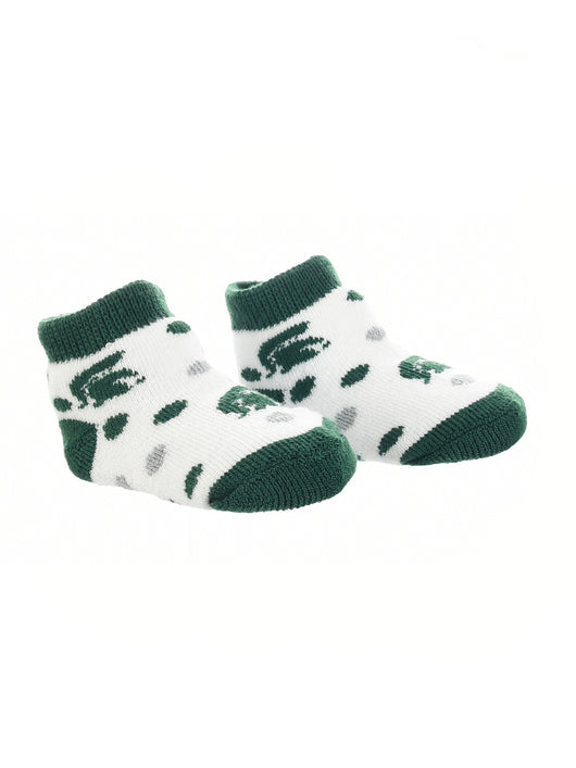 Michigan State Spartans Toddler Socks Low Cut Little Fan (Green/Grey/White, 2T-4T) - Green/Grey/White,2T-4T