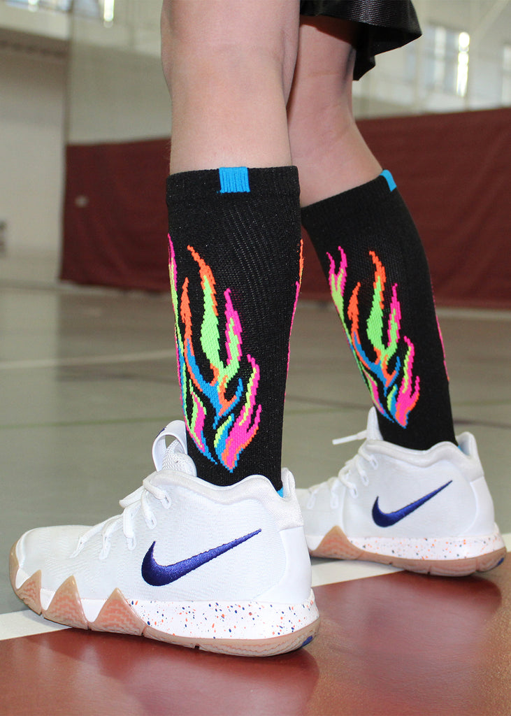 Flame Athletic Crew Socks (multiple colors)