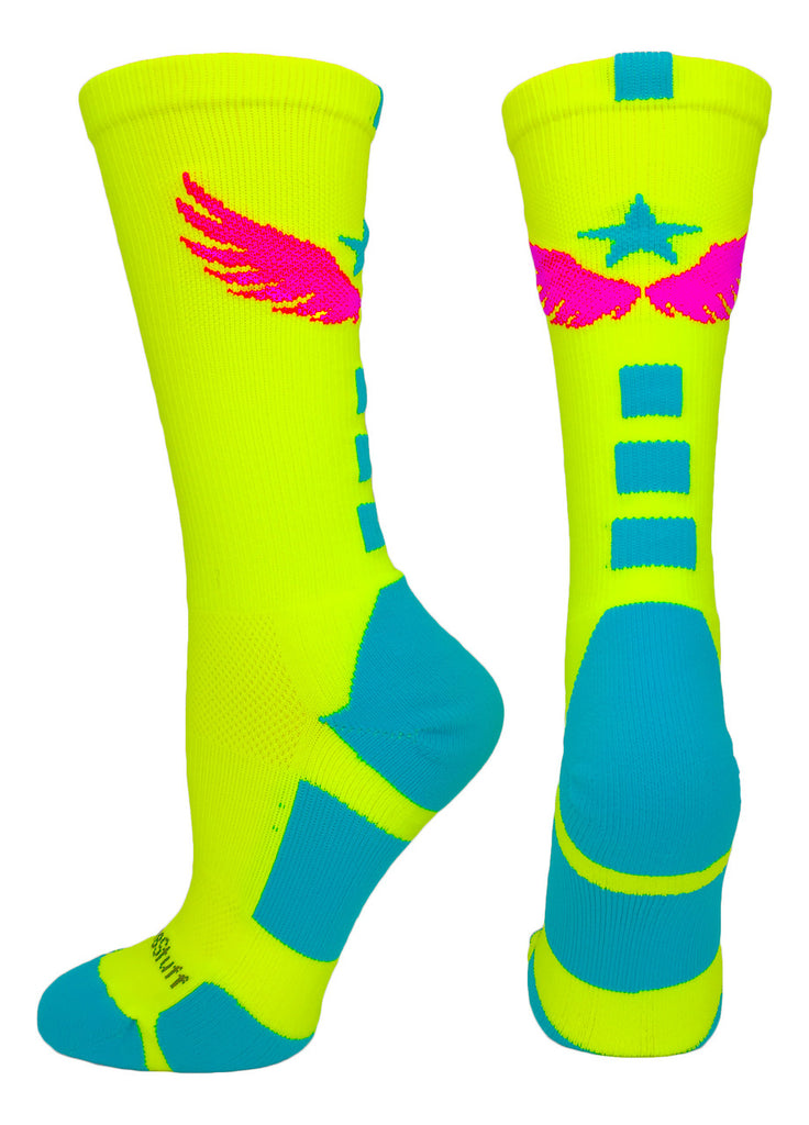 Light Speed Athletic Crew Socks (multiple colors)