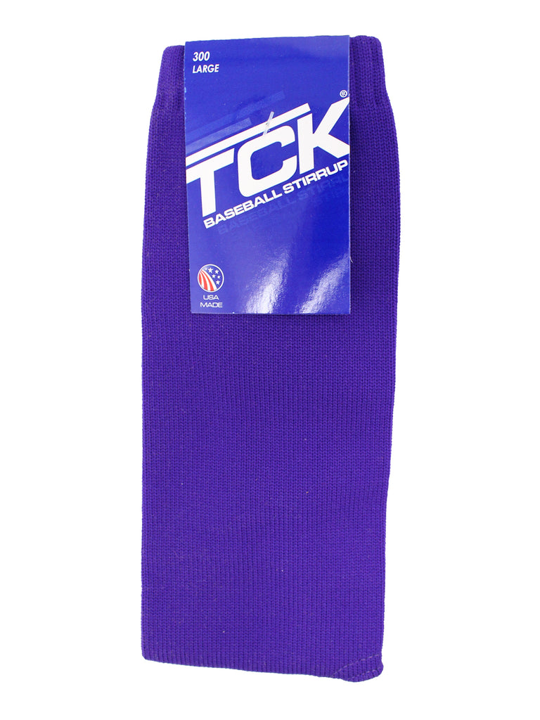 TCK Sports Solid Color 9 Inch Baseball Softball Stirrups (Multiple Colors)