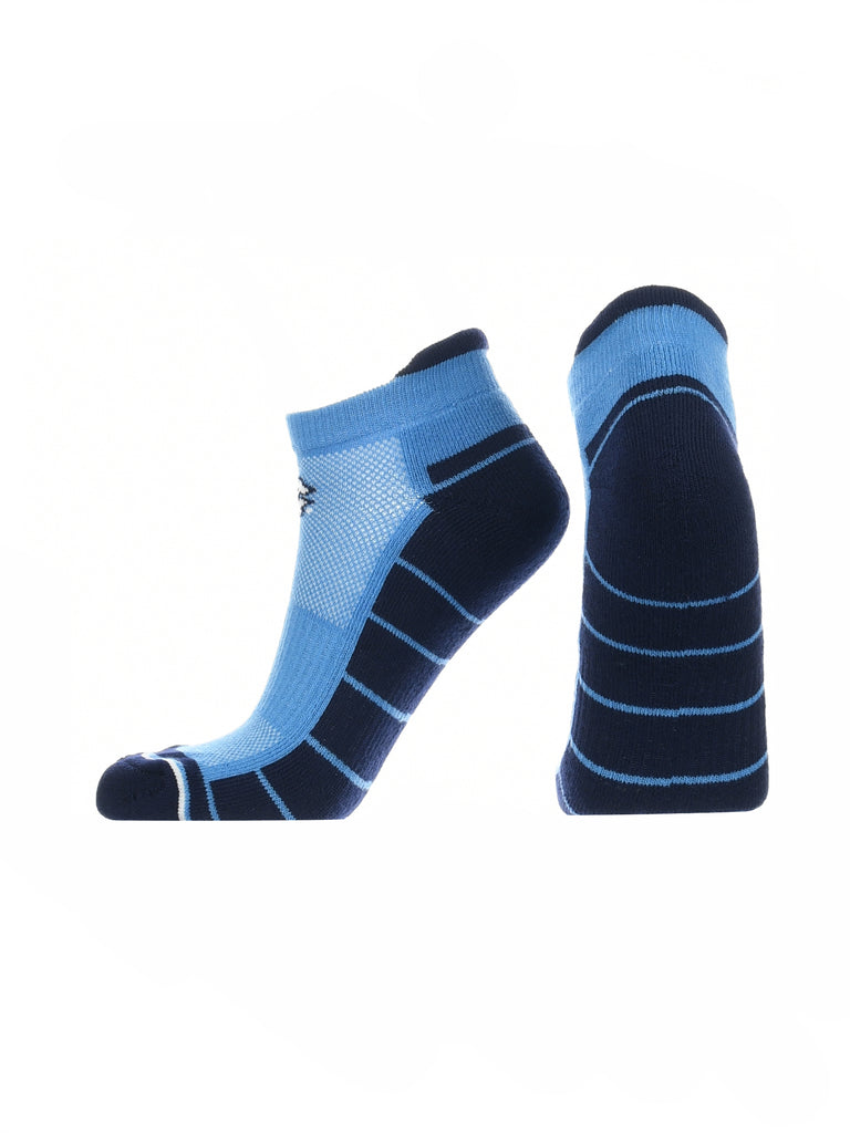 North Carolina Tar Heels Low Cut Ankle Socks with Tab