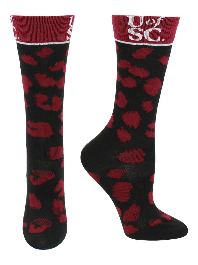 South Carolina Gamecocks Socks Womens Savage Crew Socks