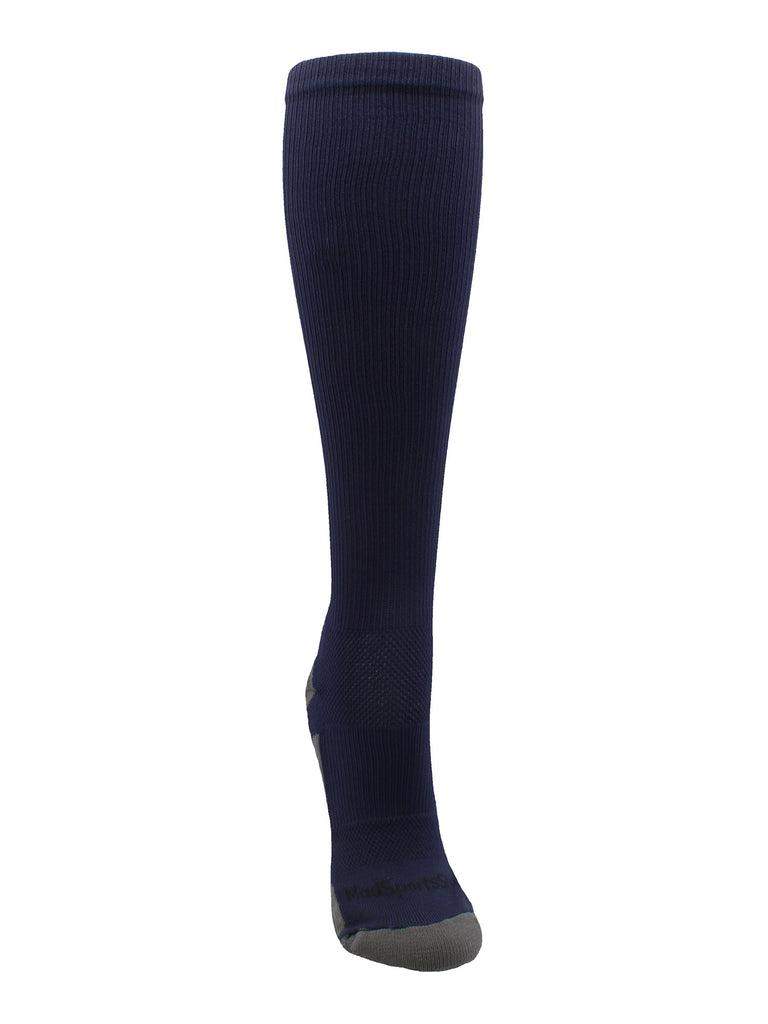 Navy Player ID Custom Number Over the Calf Socks for Softball Baseball Football Boys and Girls