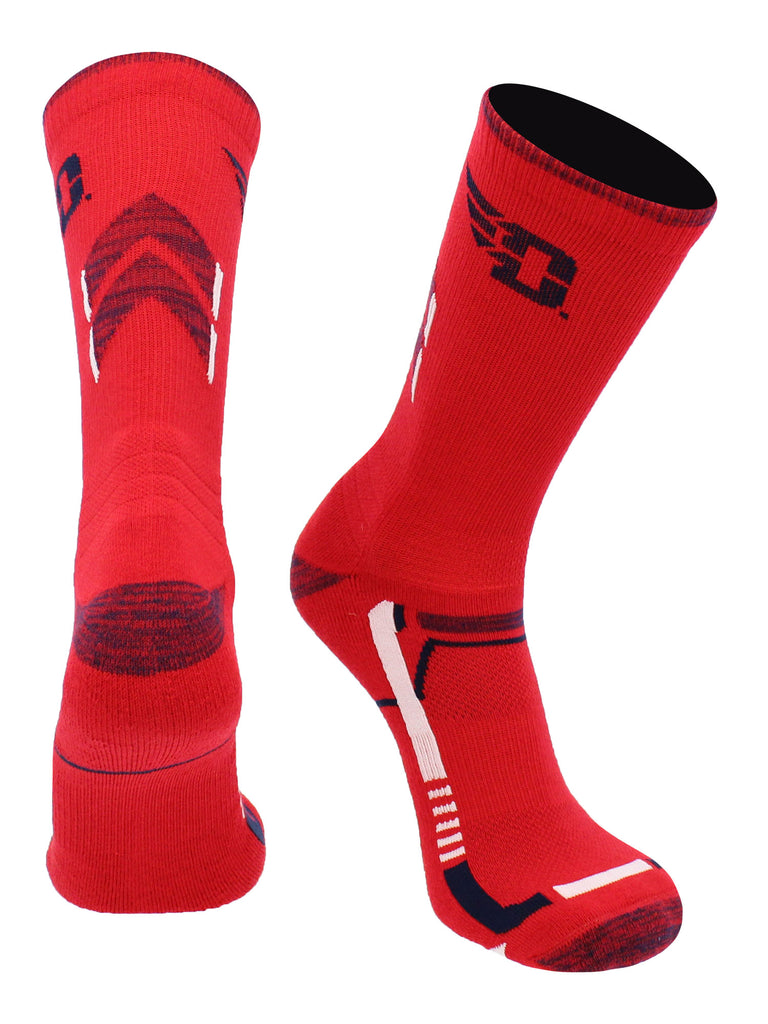Dayton Flyers Socks Dayton University Flyers Champion Crew Socks
