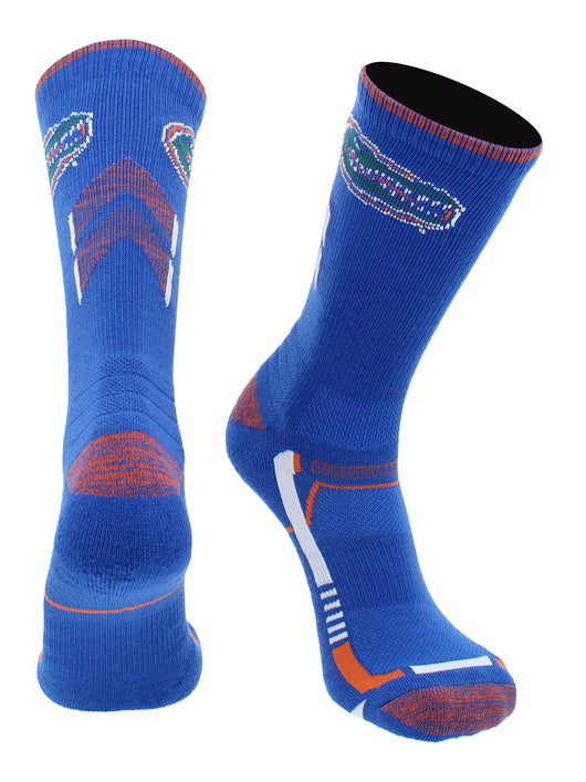 Florida Gators Champion Crew Socks (Blue/Orange, Large)