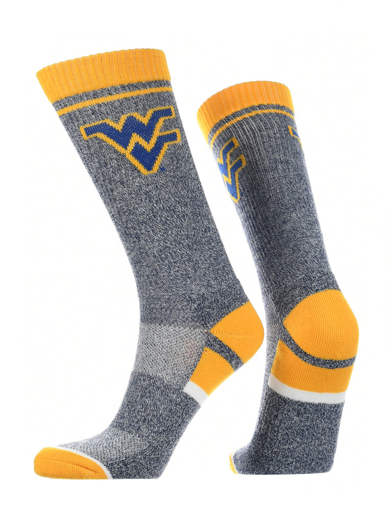 West Virginia Mountaineers Socks Victory Parade Crew Length