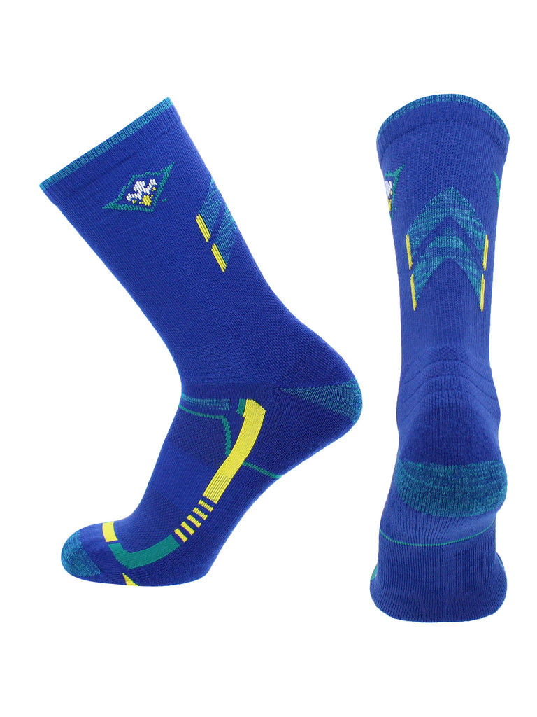 UNC Wilmington Seahawks Socks University of North Carolina Wilmington Seahawks Champion Crew Socks