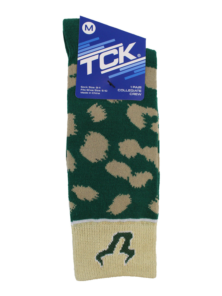 USF Bulls Socks Womens Savage Crew Socks