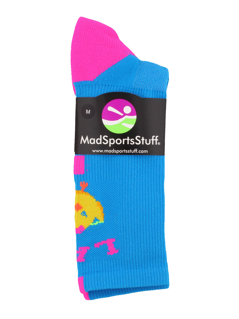LAX Chick Lacrosse Athletic Crew Socks