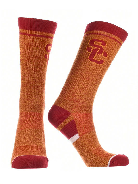 USC Trojans Socks Victory Parade (Red/Gold, Large) - Red/Gold,Large